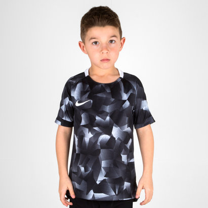 Nike Dry Fit Kids Squad S/S Football Shirt