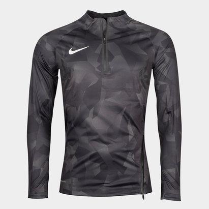 Nike Aeroshield Strike Football Training Drill Top