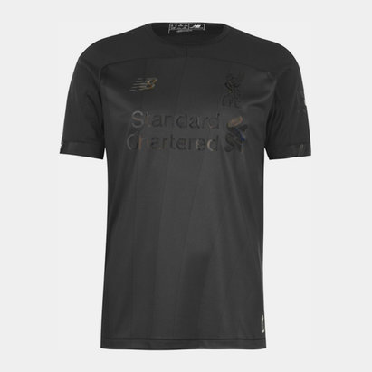 New Balance Liverpool Triple Black 19 20 Football Shirt