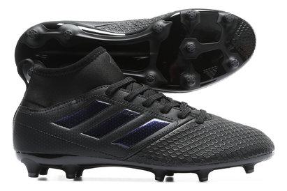 separation shoes 834b3 2591d adidas Ace 17.3 Primemesh Magnetic Storm FG Kids Football Boots Black