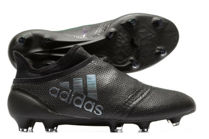fc9a96944ca82f adidas X 17+ Purespeed Primeknit Magnetic Storm FG Football Boots Black
