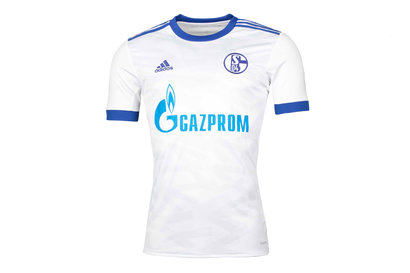 adidas FC Schalke 04 17/18 Away Replica S/S Football Shirt
