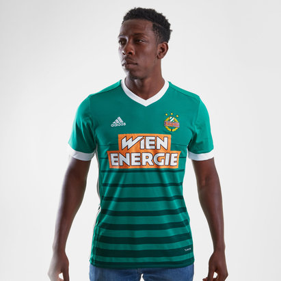adidas SK Rapid Wien 17/18 Home Replica S/S Football Shirt