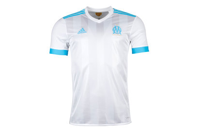 adidas Olympic Marseille 17/18 Home S/S Replica Football Shirt