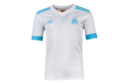 Image of Olympic Marseille 17/18 Youth Home S/S Replica Football Shirt