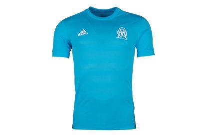 adidas Olympic Marseille 17/18 Away S/S Replica Football Shirt