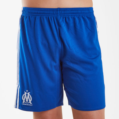 adidas Olympic Marseille 17/18 Kids Away Football Shorts