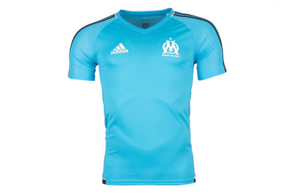 adidas Olympic Marseille 17/18 Players S/S Football Training Shirt