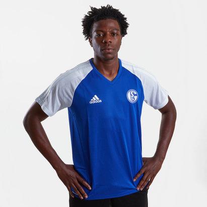 adidas FC Schalke 04 17/18 Players S/S Football Training Shirt