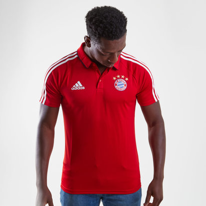 adidas Bayern Munich 17/18 Players Football Polo Shirt