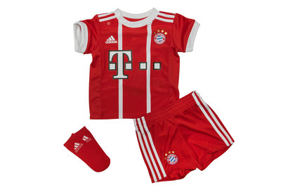 adidas Bayern Munich 17/18 Home Infant Replica Football Kit