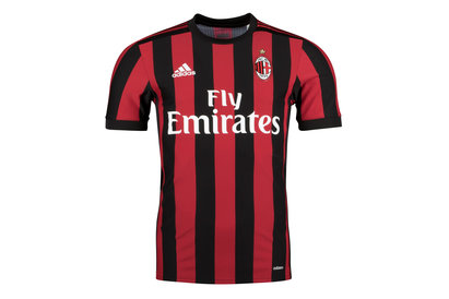 AC Milan 17/18 Authentic Home S/S Football Shirt