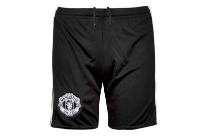 adidas Manchester United 17/18 Away Kids Football Shorts