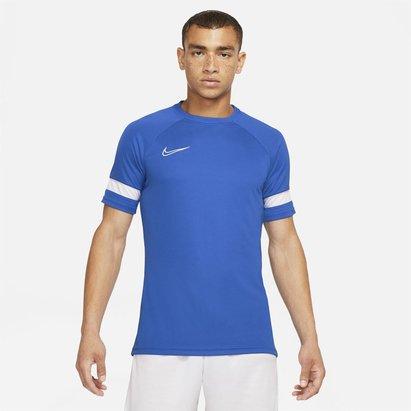 Nike Dri FIT Academy Short Sleeve Football Top Mens