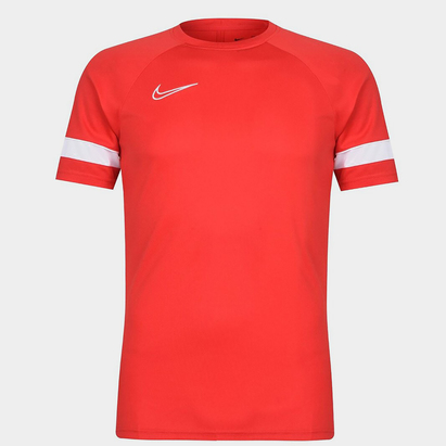 Nike Dri FIT Academy Short Sleeve Soccer Top Mens