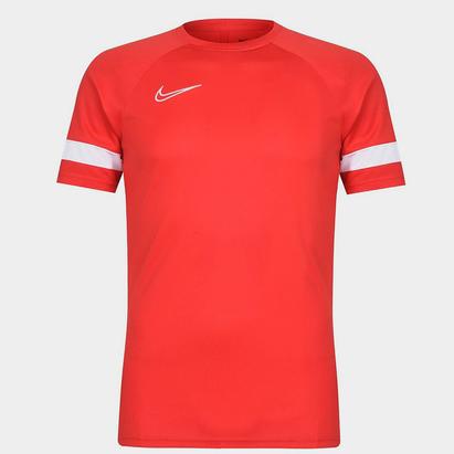 Nike Dri FIT Academy Short Sleeve Soccer Top Mens