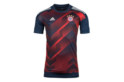 adidas Bayern Munich 17/18 Pre-Match Football Training Shirt