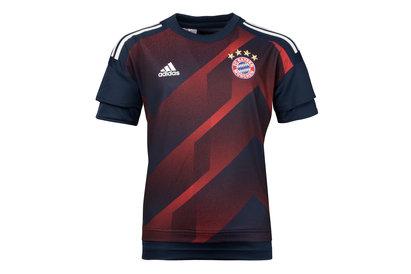 adidas Bayern Munich 17/18 Kids Pre-Match Football Training Shirt