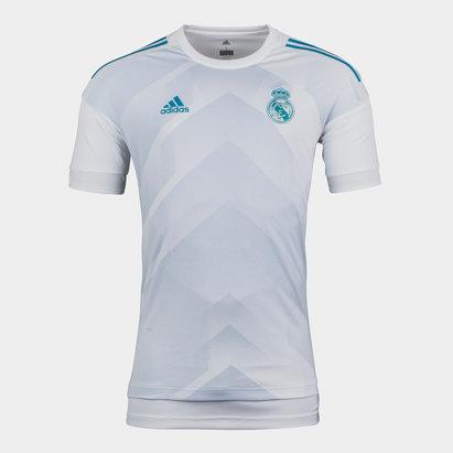 adidas Real Madrid 17/18 Pre-Match Football Training Shirt