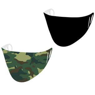 And1 2 Pack Scuba Face Mask