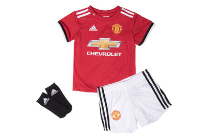 adidas Manchester United 17/18 Home Infant Replica Football Kit