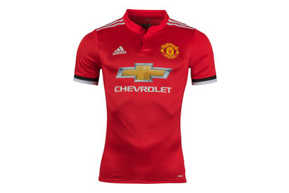 adidas Manchester United 17/18 Home Authentic Players S/S Football Shirt