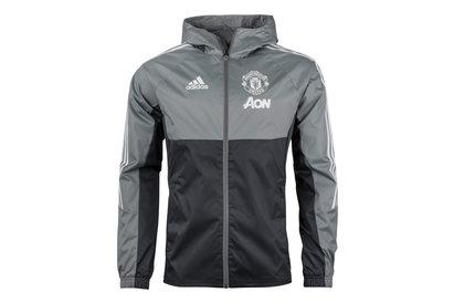 adidas Manchester United 17/18 Players Football Rain Jacket