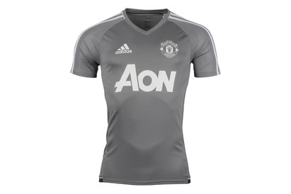 adidas Manchester United 17/18 S/S Football Training Shirt