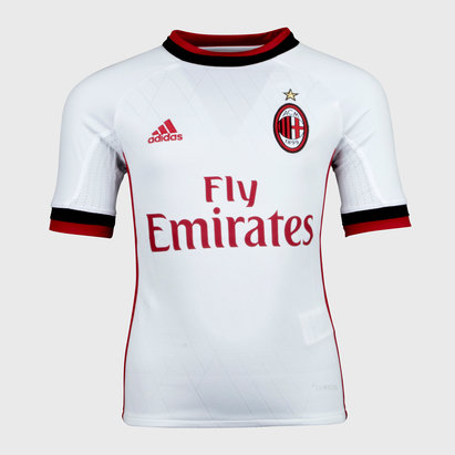 adidas AC Milan 17/18 Away Kids S/S Replica Football Shirt