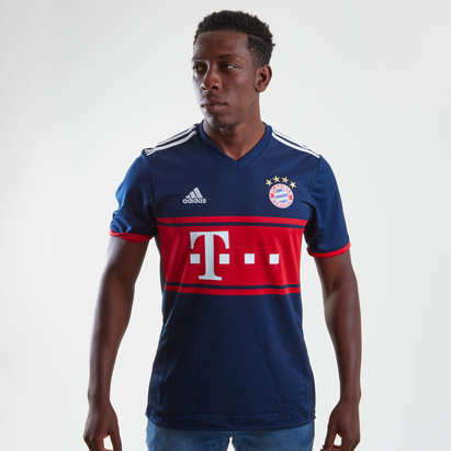 Bayern Munich 17/18 Away S/S Replica Football Shirt