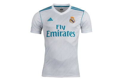 adidas Real Madrid 17/18 Home S/S Replica Football Shirt