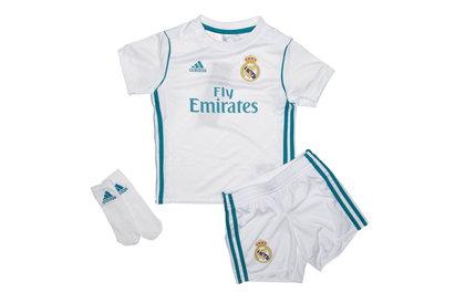 adidas Real Madrid 17/18 Infant Home Replica Football Kit