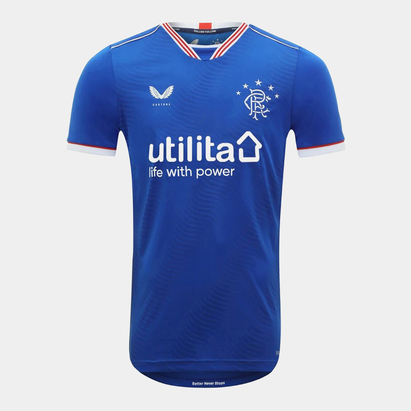Castore Rangers Home Shirt 20/21 Kids