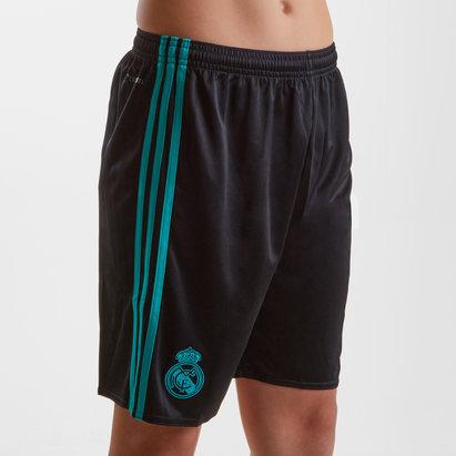 adidas Real Madrid 17/18 Kids Away Football Shorts