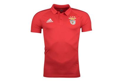 adidas SL Benfica 17/18 Players Football Polo Shirt