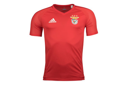 adidas SL Benfica 17/18 Players S/S Football Training Shirt
