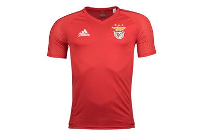 adidas SL Benfica 17/18 Players S/S Football Training Shirt