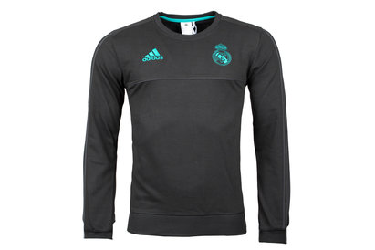 adidas Real Madrid 17/18 Players Football Sweatshirt