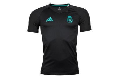 adidas Real Madrid 17/18 Players S/S Football Training Shirt