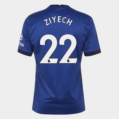 Nike Chelsea Hakim Ziyech Home Shirt 20/21 Mens
