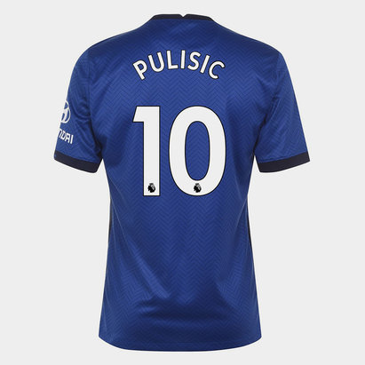Nike Chelsea Christian Pulisic Home Shirt 20/21 Mens