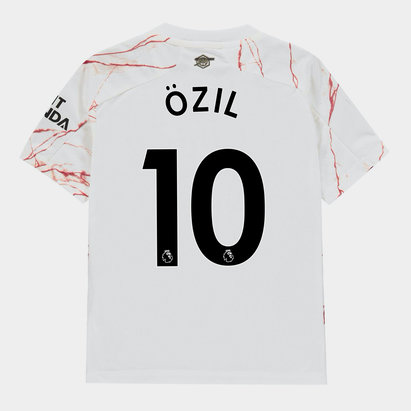 adidas Arsenal Ozil Away Shirt 20/21 Kids