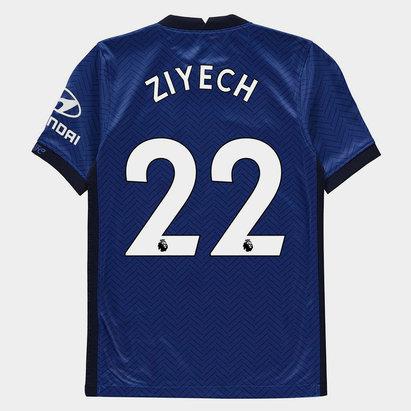 Nike Chelsea Hakim Ziyech Home Shirt 20/21 Kids