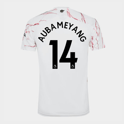 adidas Arsenal Auba Away Shirt 20/21 Mens