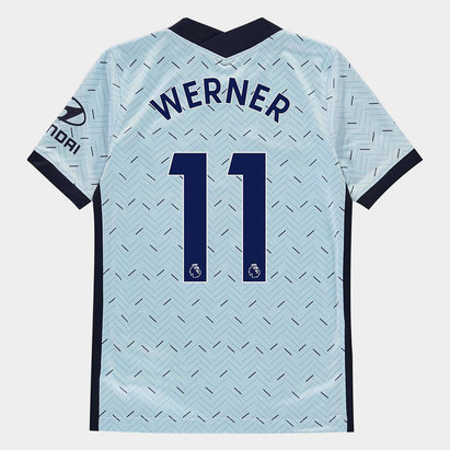 Nike Chelsea Timo Werner Away Shirt 20/21 Kids