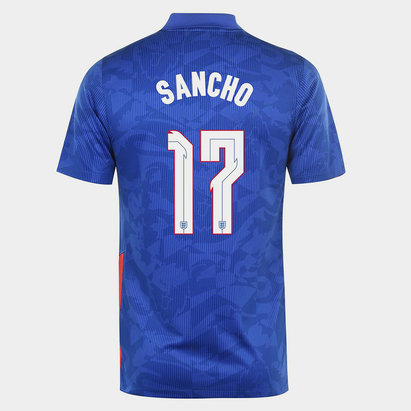 Nike England Jadon Sancho Away Shirt 2020