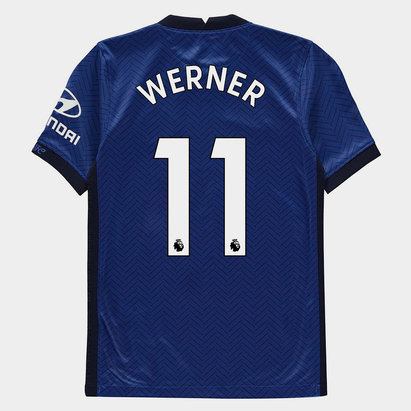 Nike Chelsea Timo Werner Home Shirt 20/21 Kids