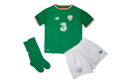 New Balance Republic of Ireland 17/18 Infant Home Replica Football Kit