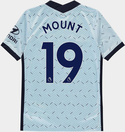 Nike Chelsea Mason Mount Away Shirt 20/21 Kids
