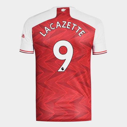 adidas Arsenal Alexandre Lacazette Home Shirt 20/21 Mens